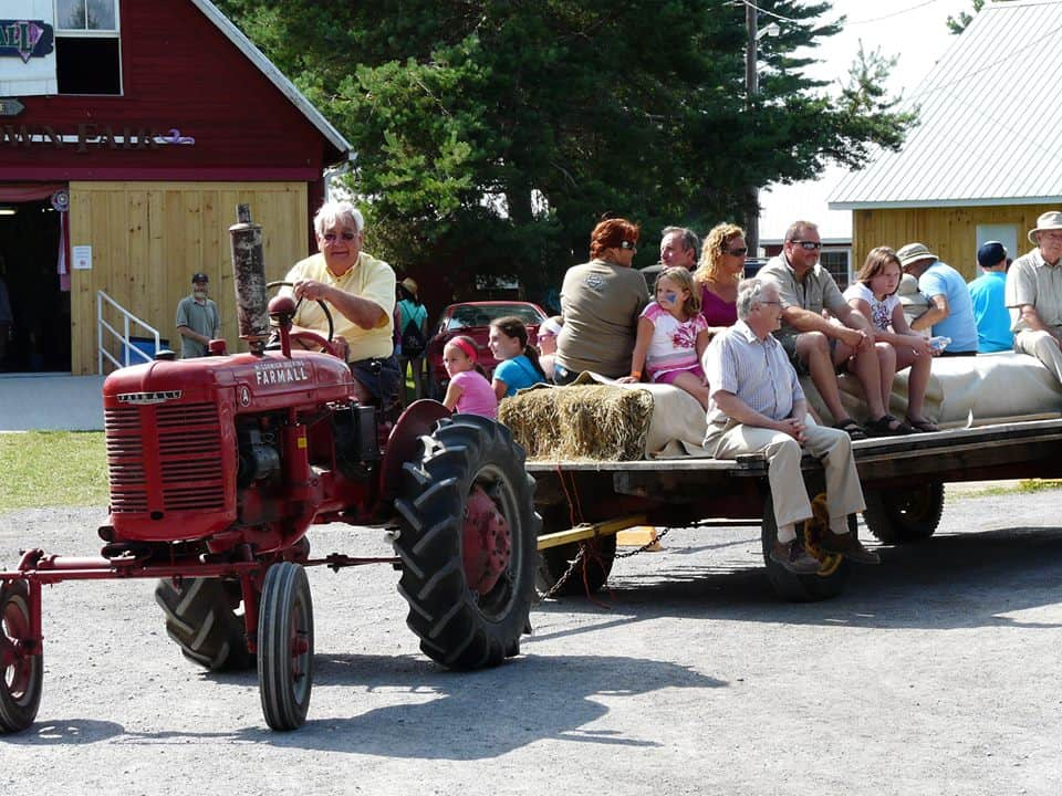 Hay Ride with Tractor