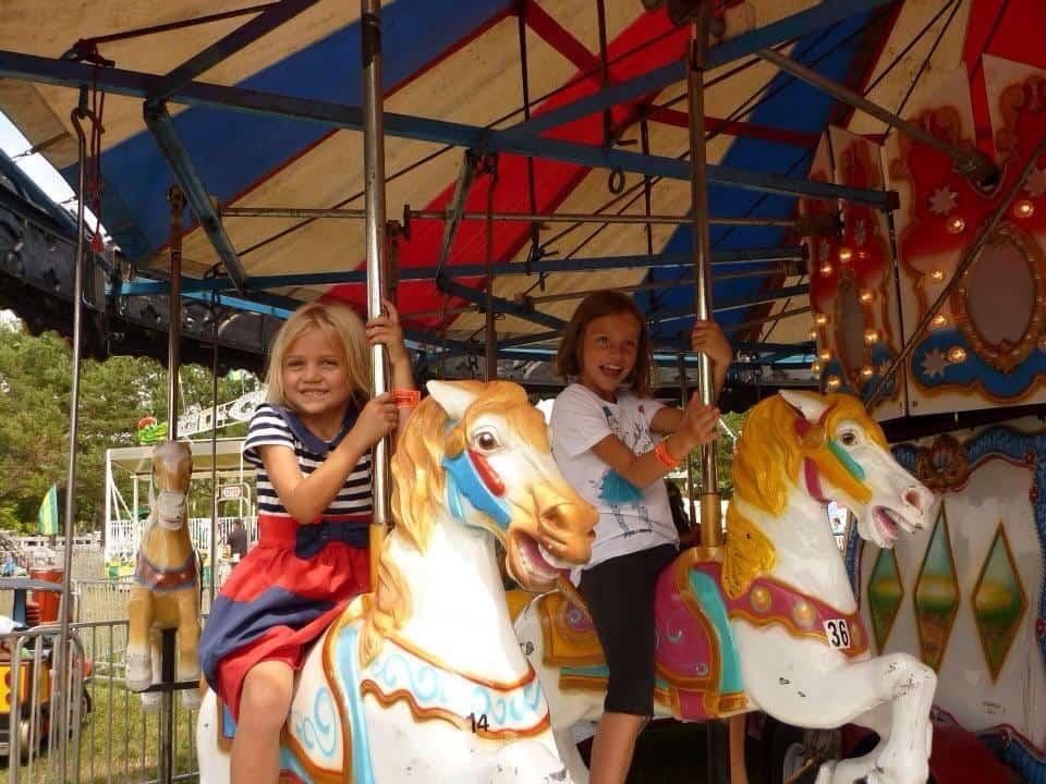 Carosel at the Williamstown Fair