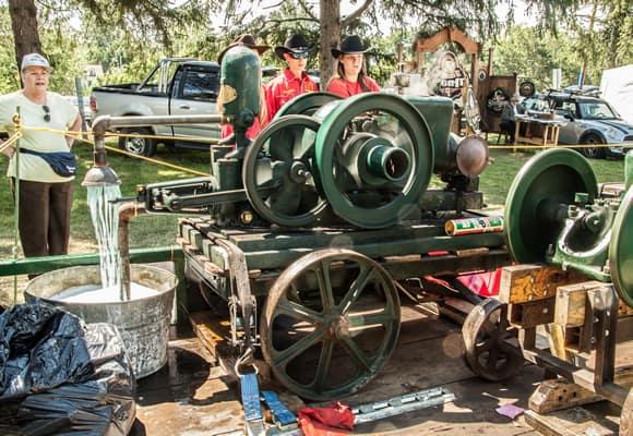 Historical Antique Farm equipment